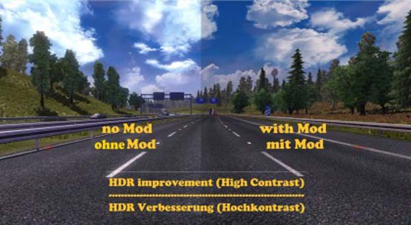 HDR improvement mod