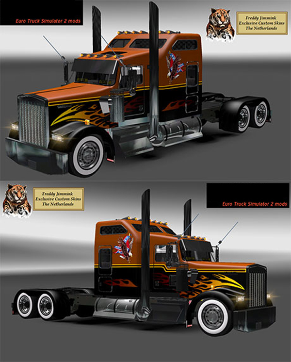 Kenworth W900L South Eagle skin