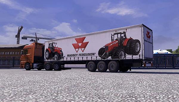 Massey Ferguson trailer