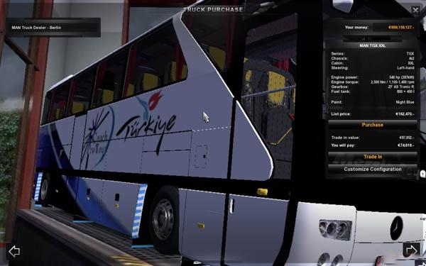 Mercedes 403 Bus + interior
