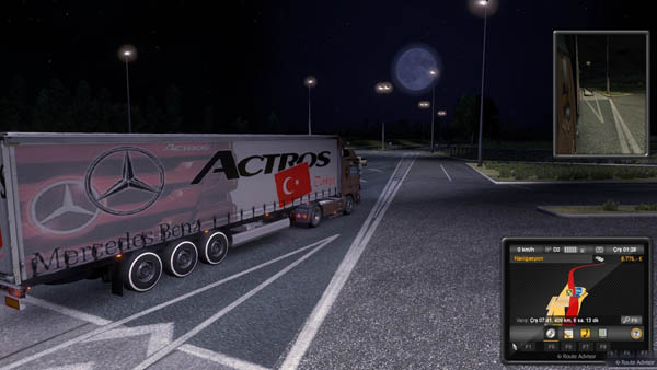 Mercedes-Benz Actros Turkey Trailer skin