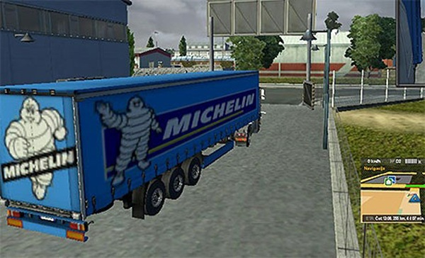 Michelin trailer skin