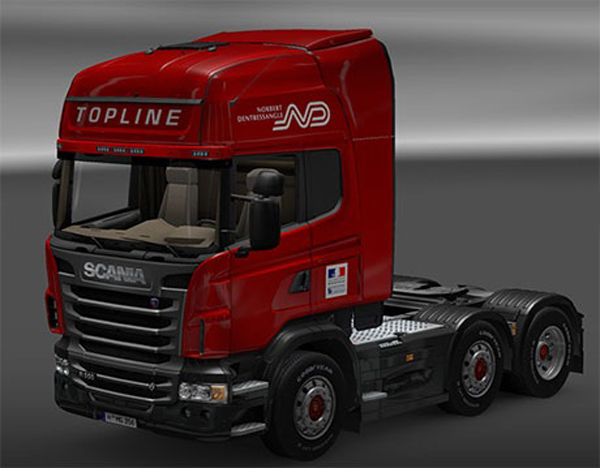 Norbert Dentressangle Scania Skin