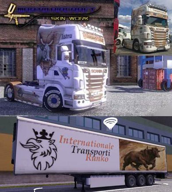 Runko Transporti Scania Trailer
