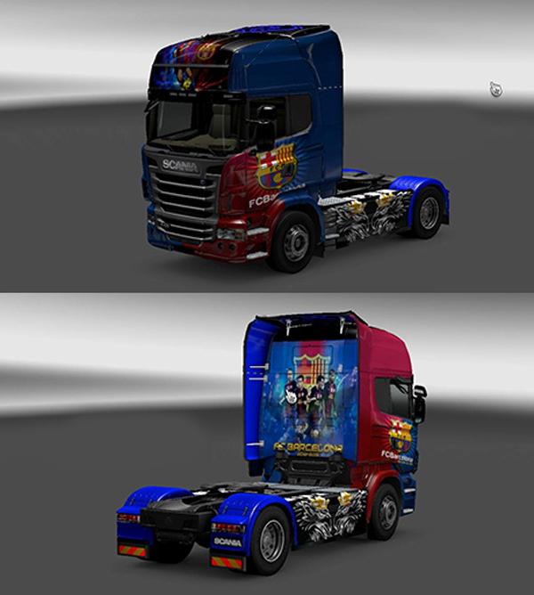 Scania Barcelona Skin