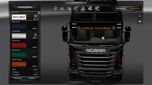Scania Sunvisor