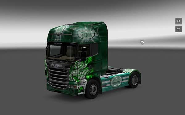 Seltic skin for Scania