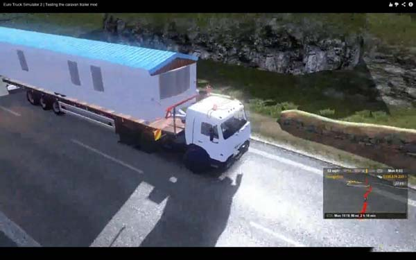 Static Caravan Trailer