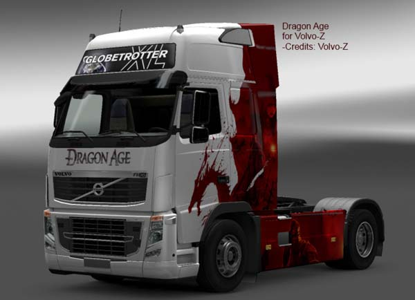 Volvo Dragon Age Skin