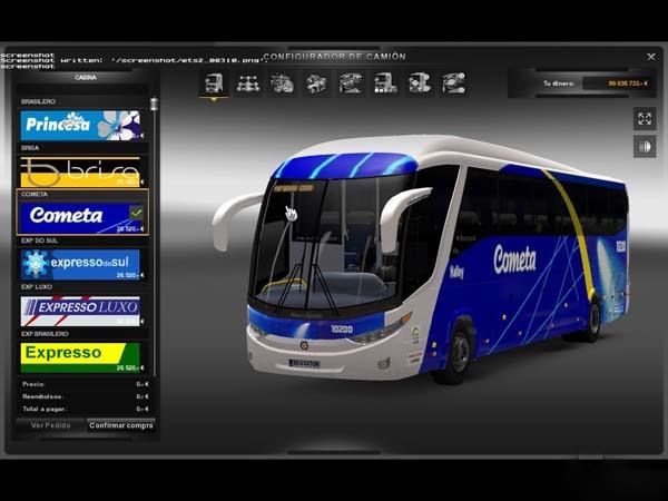 Autobus Marcopolo G7 1200 4x2