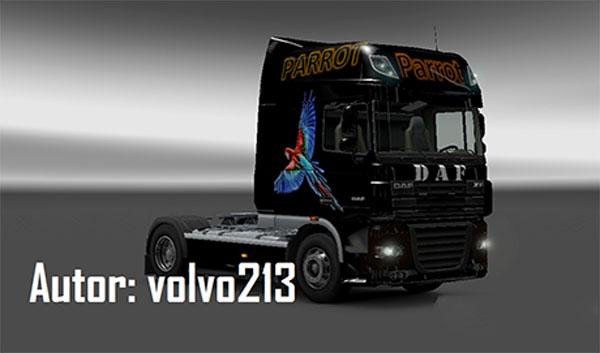 DAF Parrot Skin
