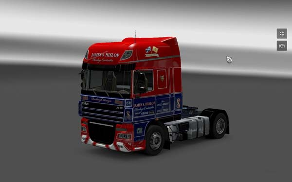 DAF XF 105 James S. Hislop