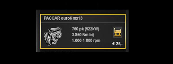 Daf euro6 mx-13 760