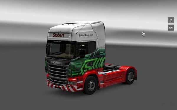 Eddie Stobart – Scania Skin