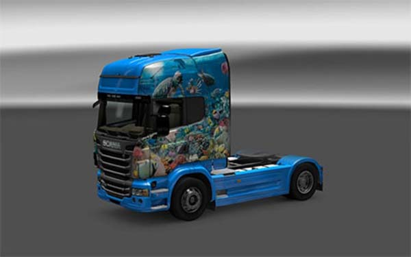 Fisch skin for Scania