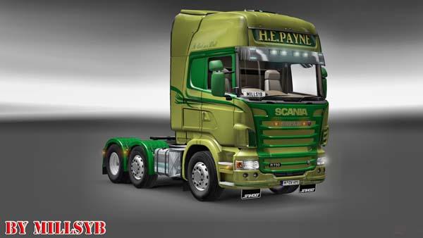 HE Payne Scania skin