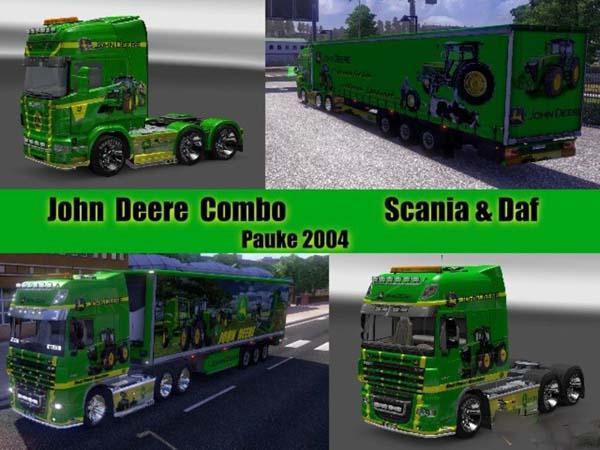 John Deere Combo