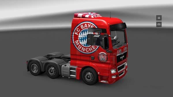 MAN XF FC Bayern Munchen Skin v2