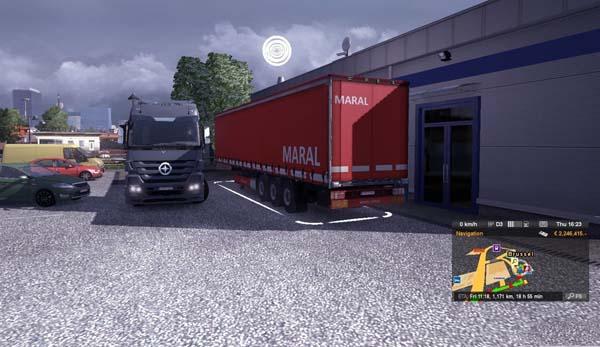 Maral trailer skin