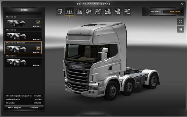 New chassis for all trucks v2