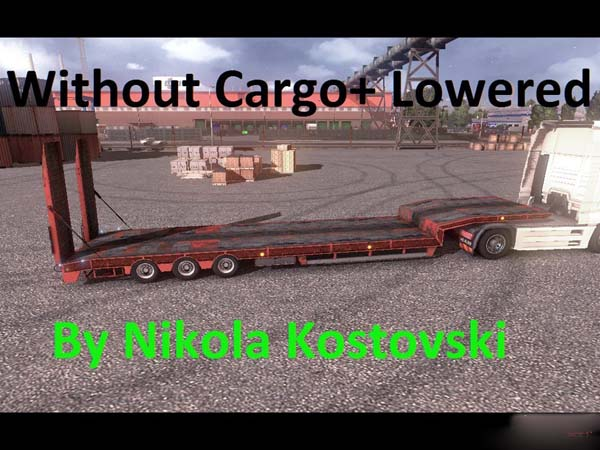 Overweight trailer