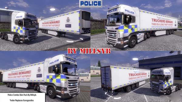 Police Combo Skin Pack