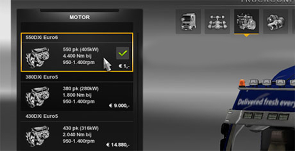 Renault Premium 550HP Mod