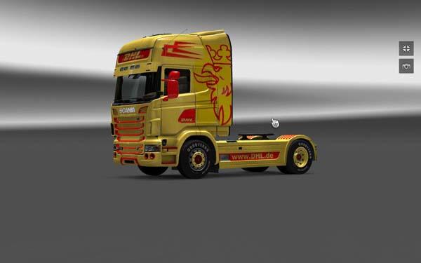 Scania DHL Skin