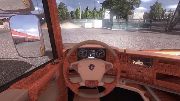 Scania Delux Luxus Ausstattung