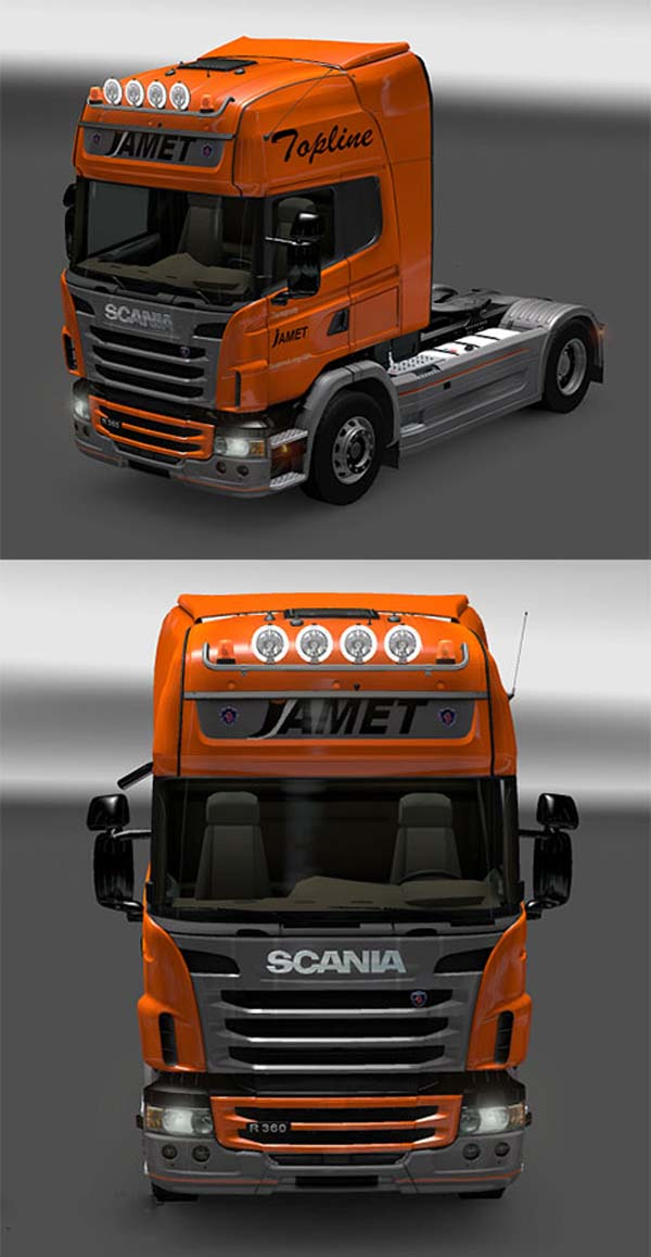 Scania Jamet skin