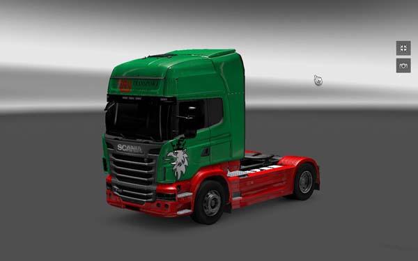 Scania Troy Transport Skin