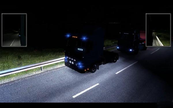 Scania V8 Open Pipe Sound 2