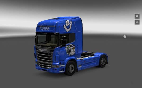 Scania V8 skin