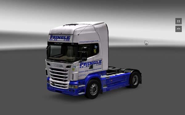 Scania WM. Pringle skin