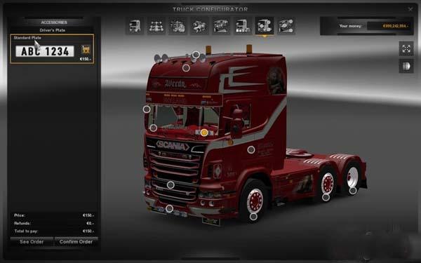 Scania Weeda r500 Son of Monarchy