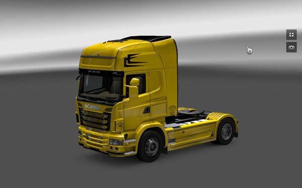 TechnoCassa Scania skin