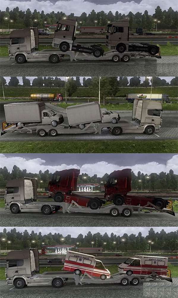 Transporter trailers pack