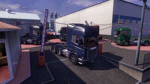 Truck Dealer Barrier Up