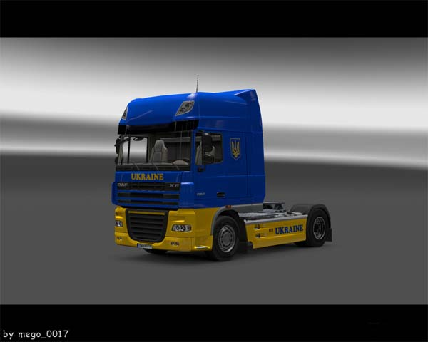 Ukraine skin for daf