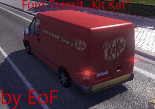 Ford Transit Kit-Kat Skin
