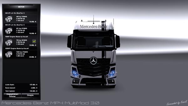 Mercedes Benz MP4 Multimod 3.0