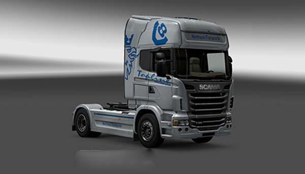 Scania Hartmann Transporte Skin