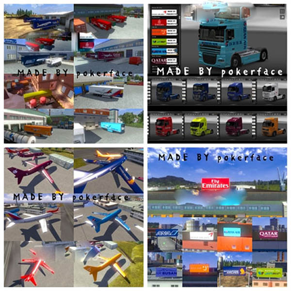 Airline skin pack