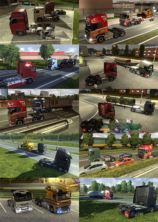All types of cabin & chassis in AI traffic