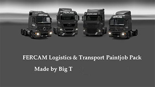 FERCAM Logistics & Transport Paintjob Pack