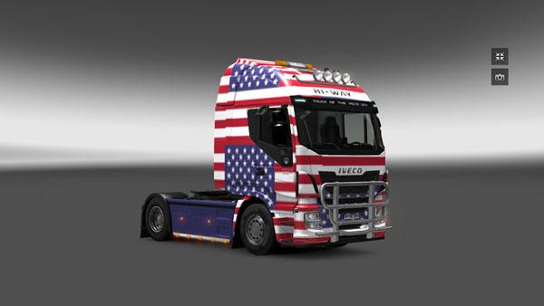 Iveco Hi Way America Skin