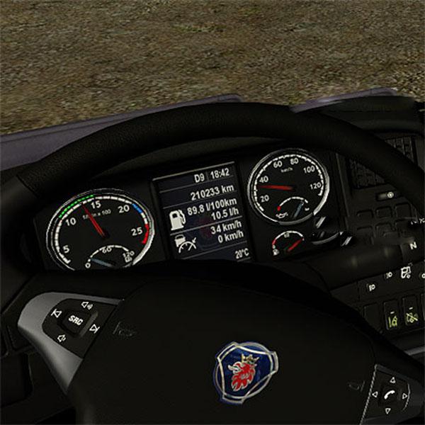 New Scania Display