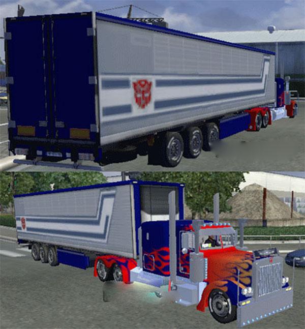 Optimus Prime trailer
