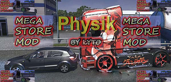 Physics for all chassis for Mega Store