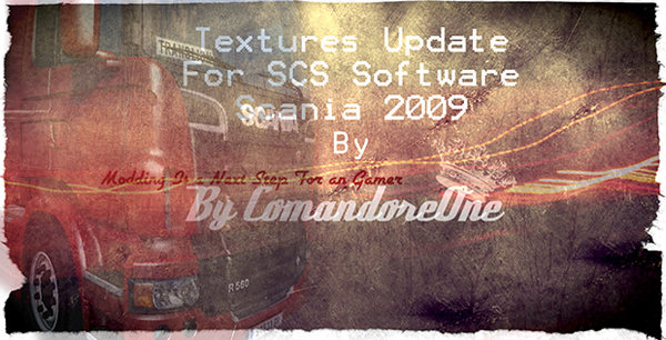 Realistic Textures Scania SCS 2009 V8 Update